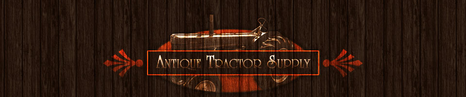 Antique Tractors, And Tractor Parts